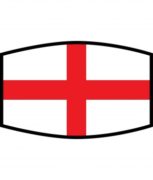 Fask Mask - 3 Layer - Flag - England George Cross