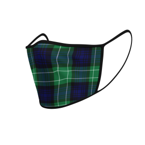 Face Mask Abercrombie Tartan - Product 3D