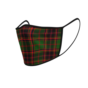 Face Mask Buchan Tartan - Product 3D