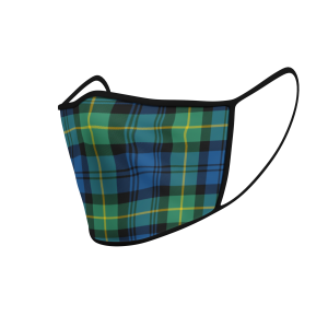 Face Mask Gordon Ancient Tartan - Product 3D
