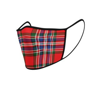 Face Mask MacFarlane Tartan - Product 3D