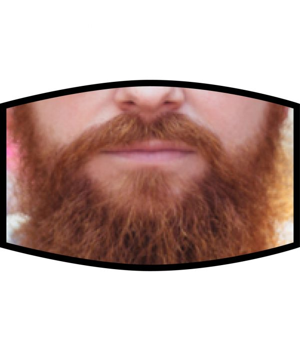Fask Mask - 3 Layer - Ginger Beard