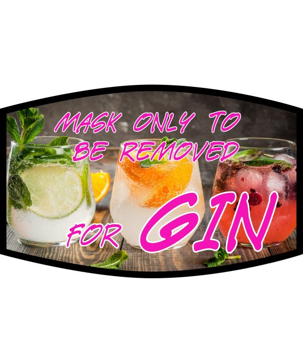Fask Mask - 3 Layer - Only Remove For Gin