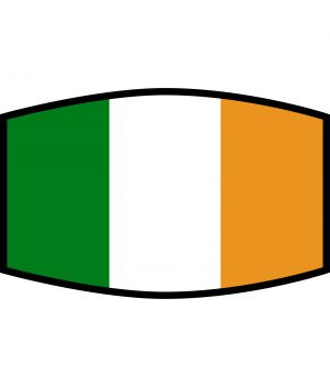 Fask Mask - 3 Layer - Flag - Ireland