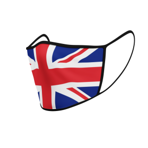 Face Mask - Flag - Union Jack - Product 3D