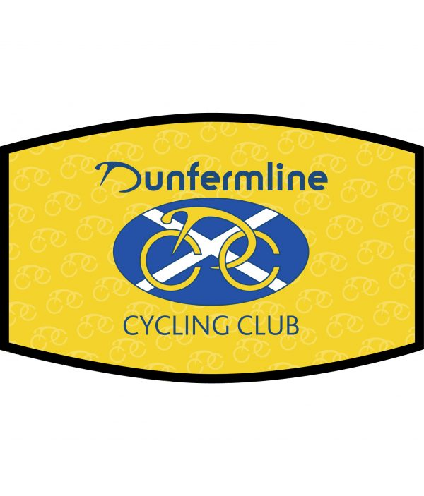 Face Mask - 3 Layer - Dunfermline Cycling Club