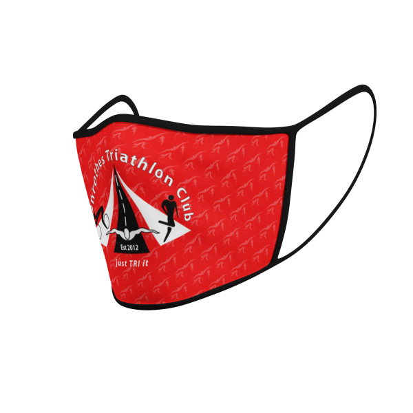Face Mask - Glenrothes Tri Club - Pattern - Product 3D