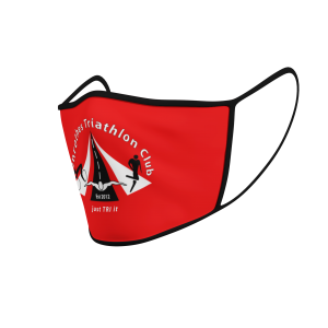 Face Mask - Glenrothes Tri Club - Plain - Product 3D