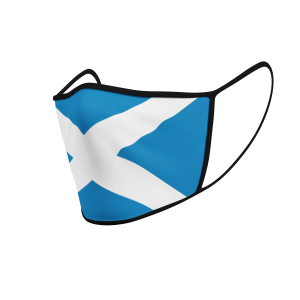 Face Mask - Scotland Flag - Product 3D