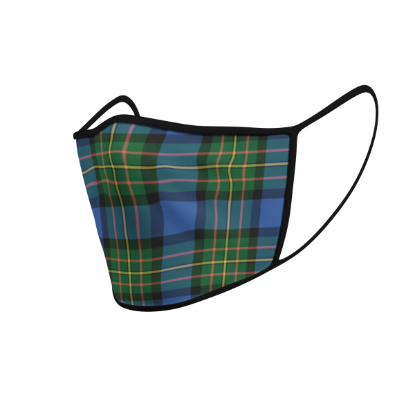 Face Mask - MacLaren Ancient Tartan - Product 3D