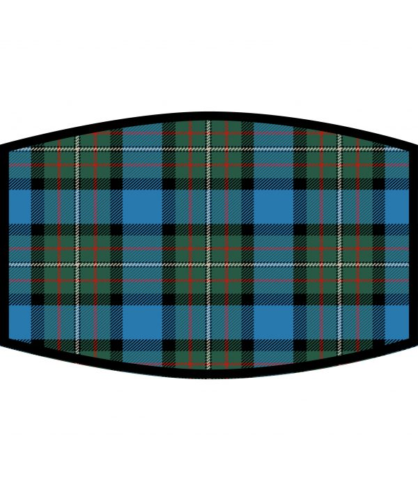 Face Mask - 3 Layer - Fergusson Ancient Tartan