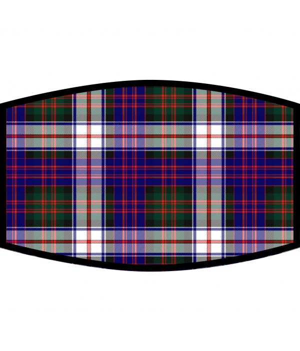 Face Mask - 3 Layer - MacDonald Dress Modern Tartan