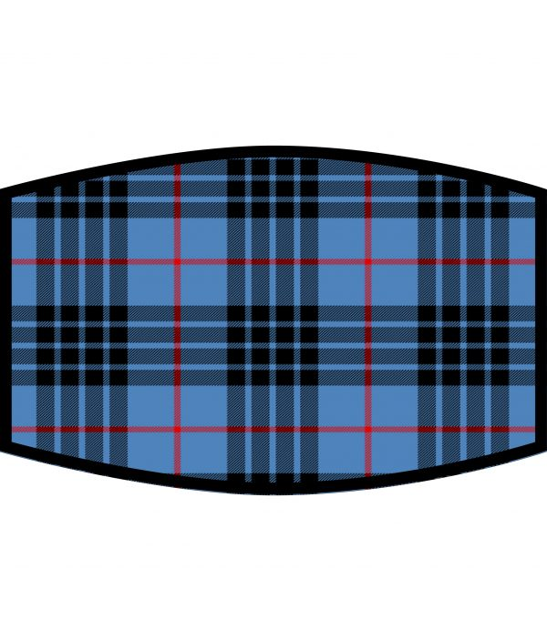 Face Mask - 3 Layer - MacKay Tartan