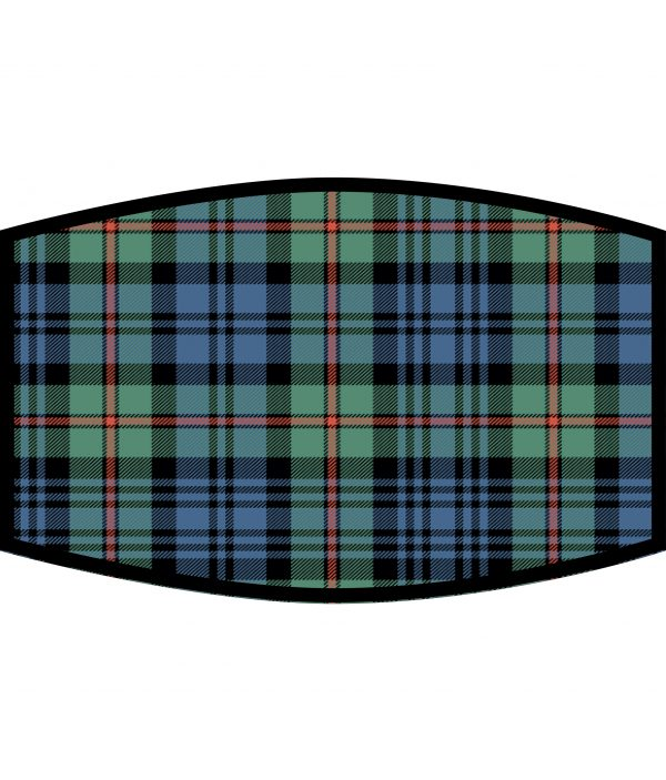 Face Mask - 3 Layer - Mackinlay Tartan