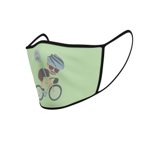Face Mask - Cycling Dude - 3D
