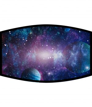 Face Mask - 3 Layer - Galaxy