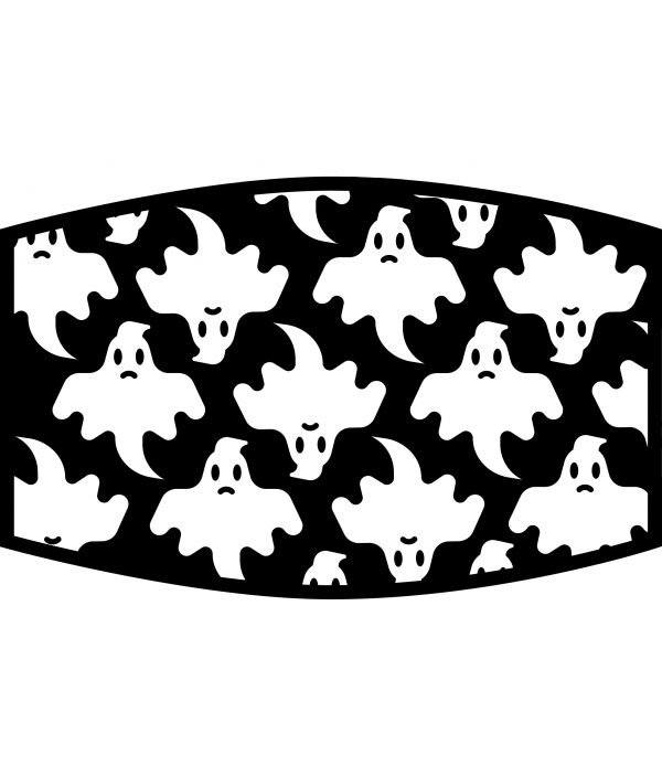 Face Mask - 3 Layer - Ghost