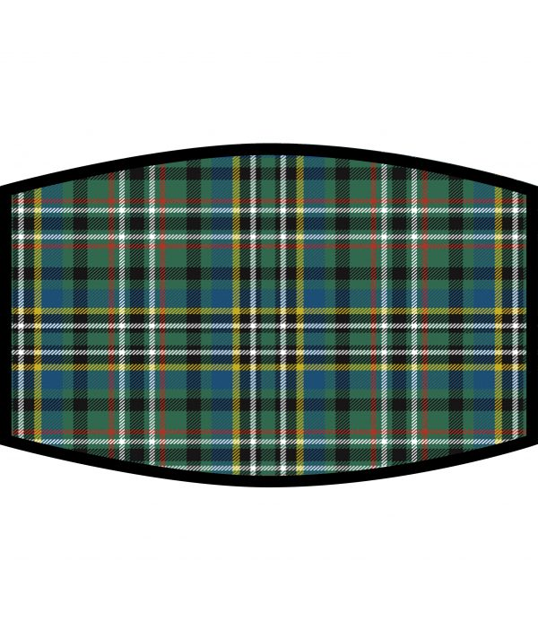 Face Mask Scott Green Ancient Tartan